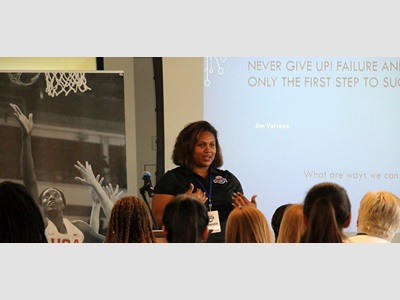 y Miller at USA Basketball Women in the Game