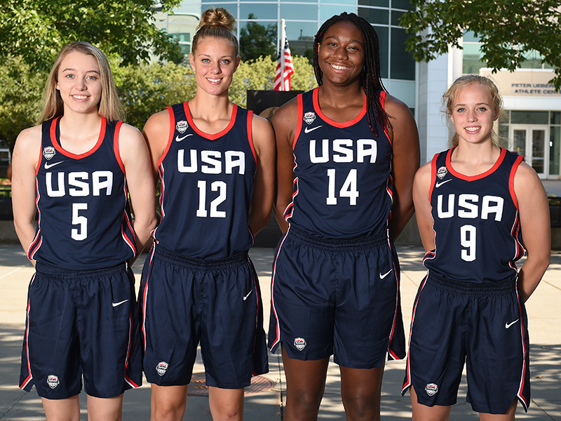 2018 USA Women's Youth Olympic Games Team