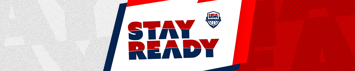 Stay Ready graphic header