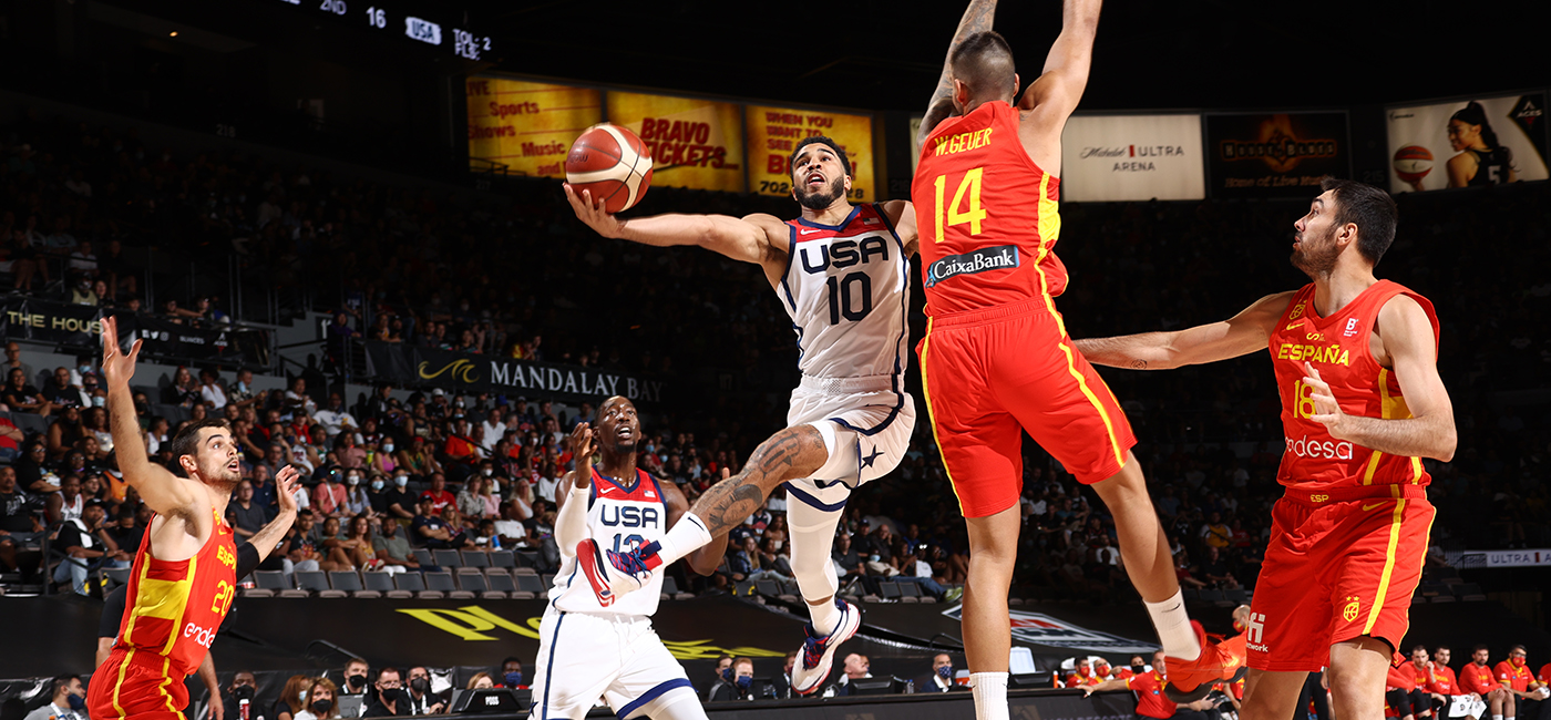 USA Men Find a Spark in Win Over Spain in Final Exhibition Before Tokyo