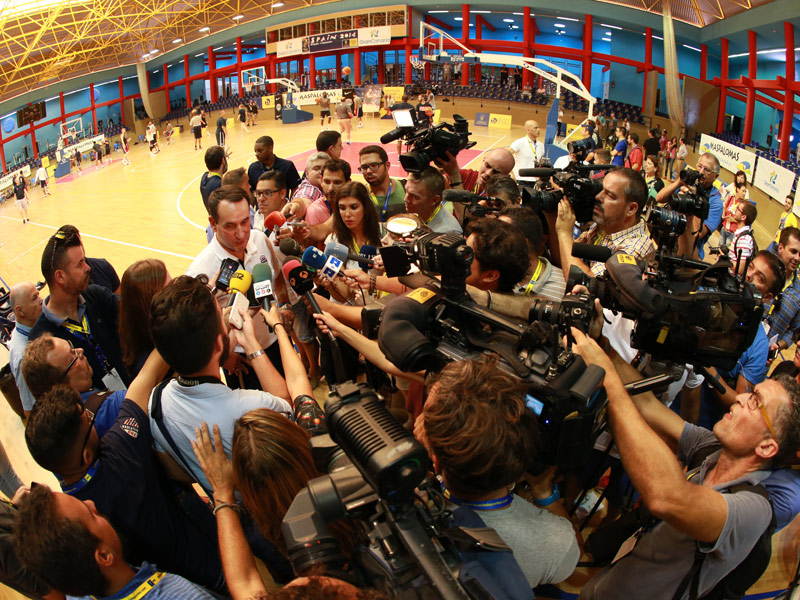 Coach K and the media