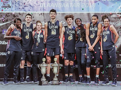 USA Men's and Women's 2019 3x3 U18 World Cup Teams