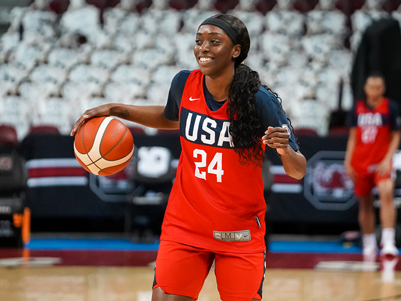 Kahleah Cooper is hoping to be named to the USA National Team following training campjpg