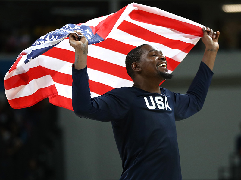 23 2016 Durant Flag GettyImages 593249684jpg
