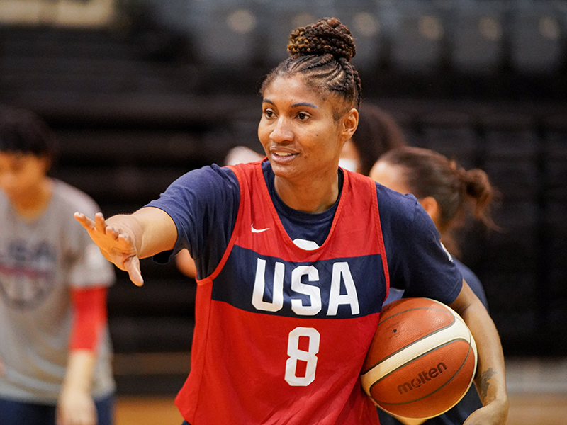 Angel McCoughtry WNT March 2021jpg