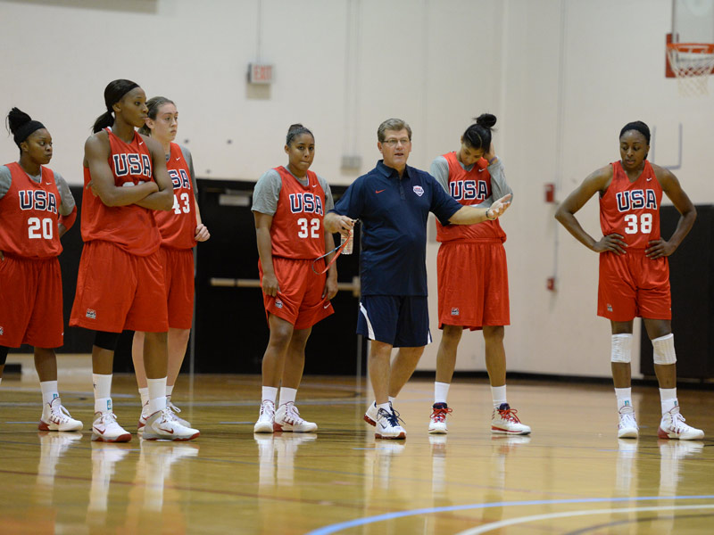 WNT training camp