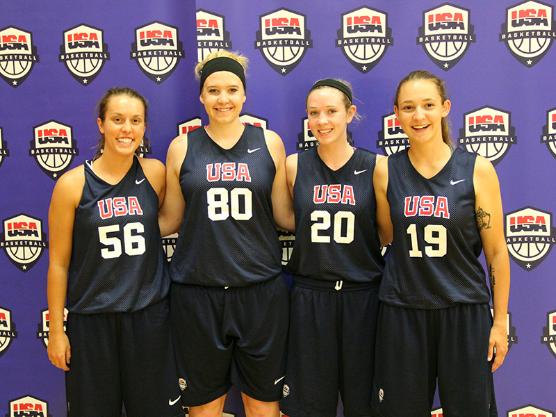 2015 USA Basketball 3x3 Women's National Tournament - Team Photos