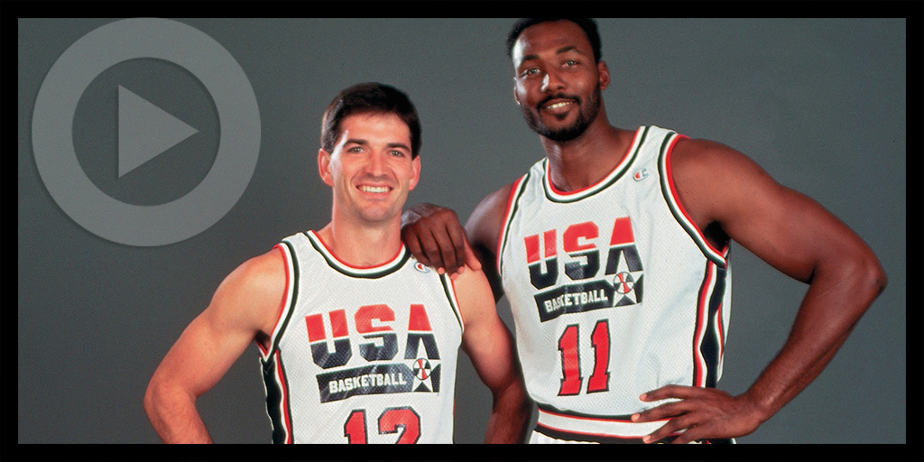 John Stockton and Karl Malone
