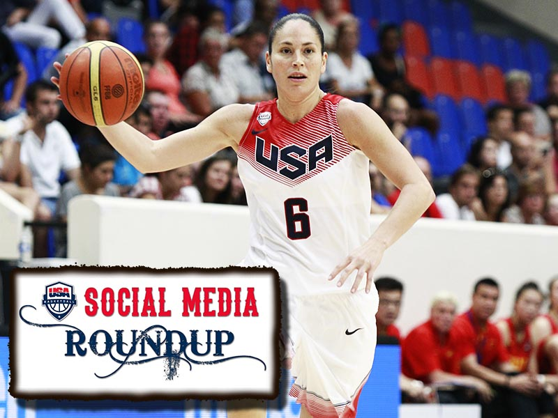 Sue Bird part of this week's Social Media Roundup.