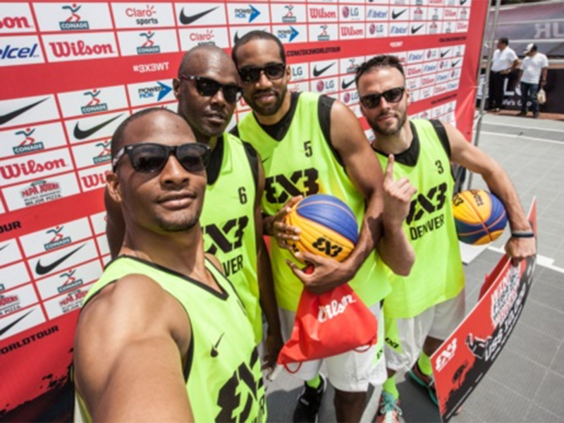 Denver Championship Selfie At 2015 FIBA 3x3 World Tour Mexico Masters