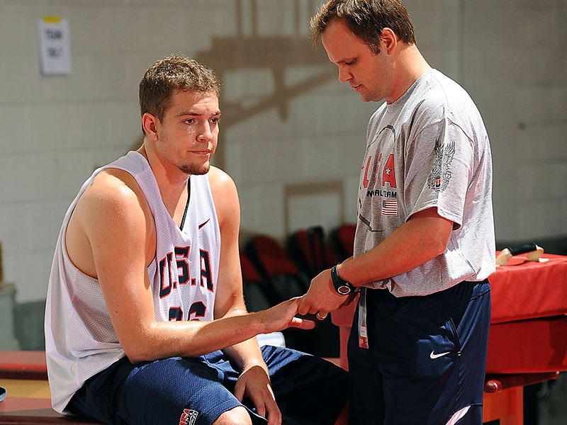 usa basketball how to treat a jammed finger
