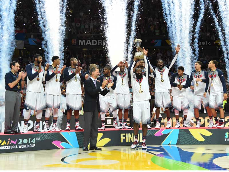 caf627ab354d USA Basketball - USA Fires Its Way To FIBA World Cup Gold Medal