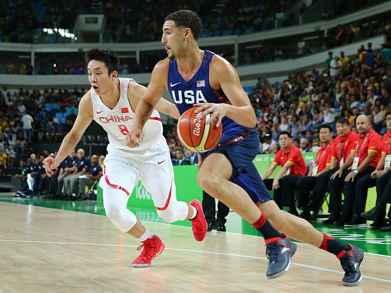 purchase cheap ca8c2 ebcbd U.S. Olympic Men s Basketball Team Gets Rolling With 119-62 Rout Of China