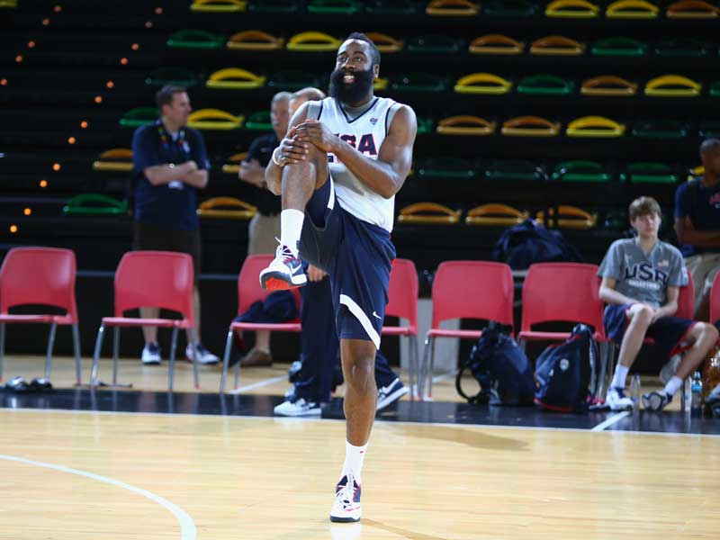 USA Basketball - A Productive Change to Your Warm-Up Routine