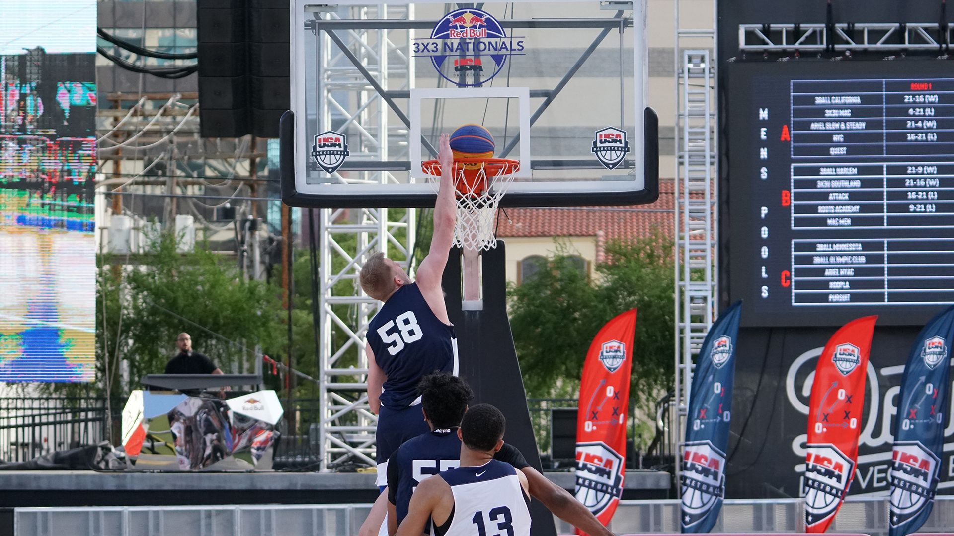 bcfeeaa3c Red Bull USA Basketball Men s 3x3 Nationals Sees Three Teams Unbeaten After  First Day of Competition