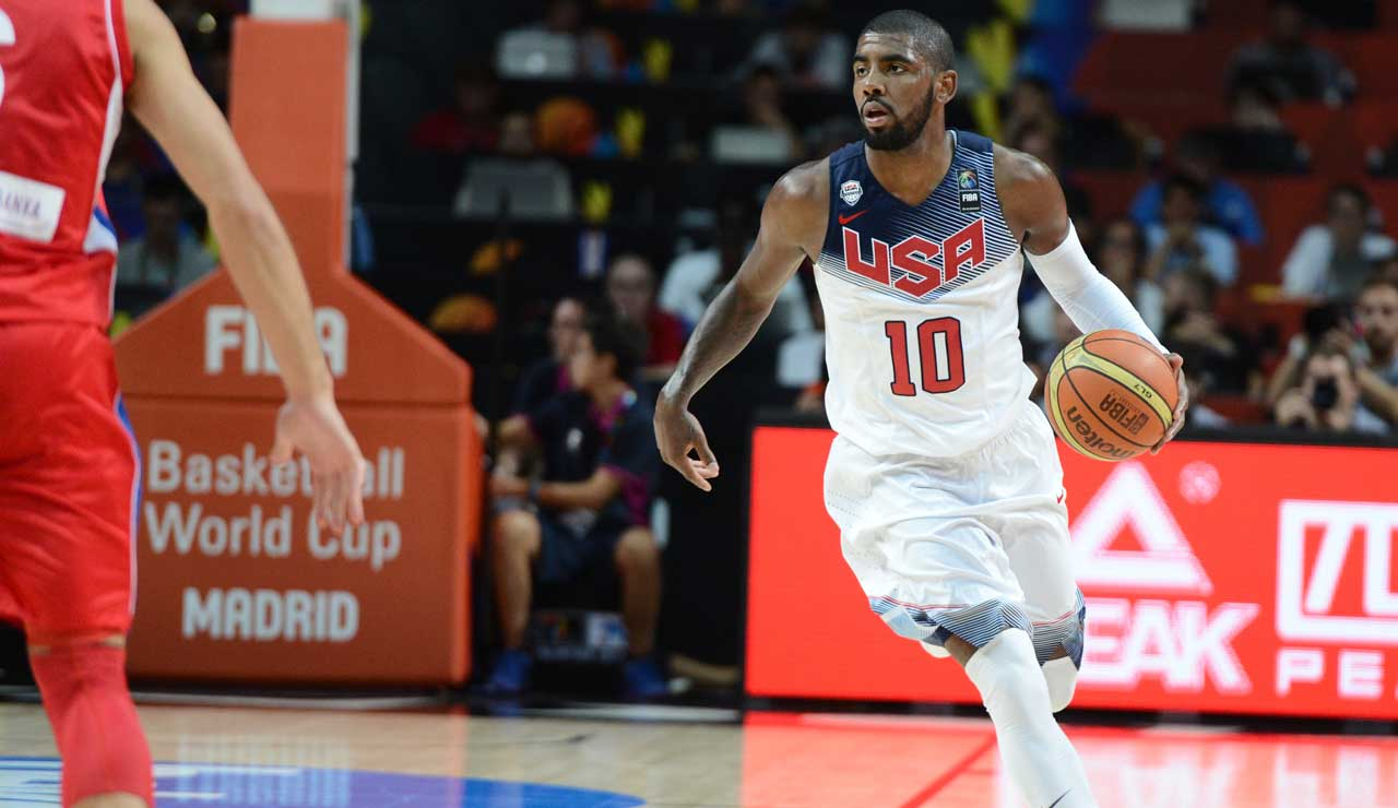 Kyrie Irving Earns 2014 USA Basketball Male Athlete Of The ...