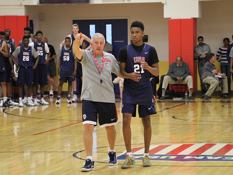 separation shoes d4108 3bc5f Fifty-seven Players Named To 2015-16 USA Basketball Men s Junior National  Team Roster