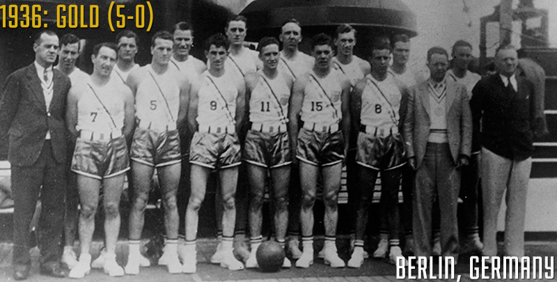1936 U.S. Men's Olympic Basketball Team