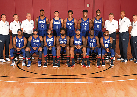 2016 U.S. Olympic Men's Basketball Team