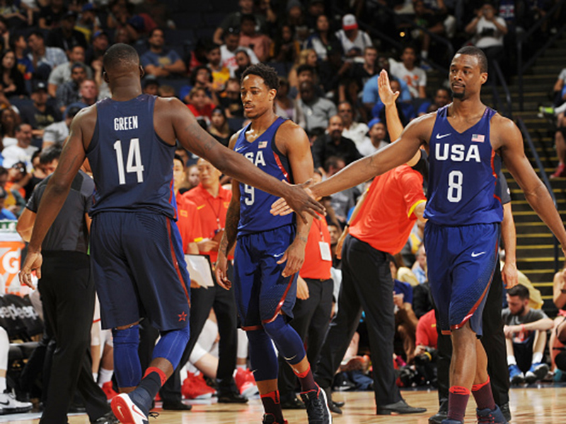new style 2a205 89ba5 Additional Quotes  USA Basketball Men s National Team 107, China 57