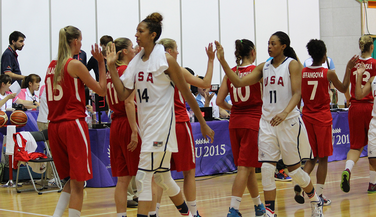 2015 USA Women's WUGs versus Czech Republic