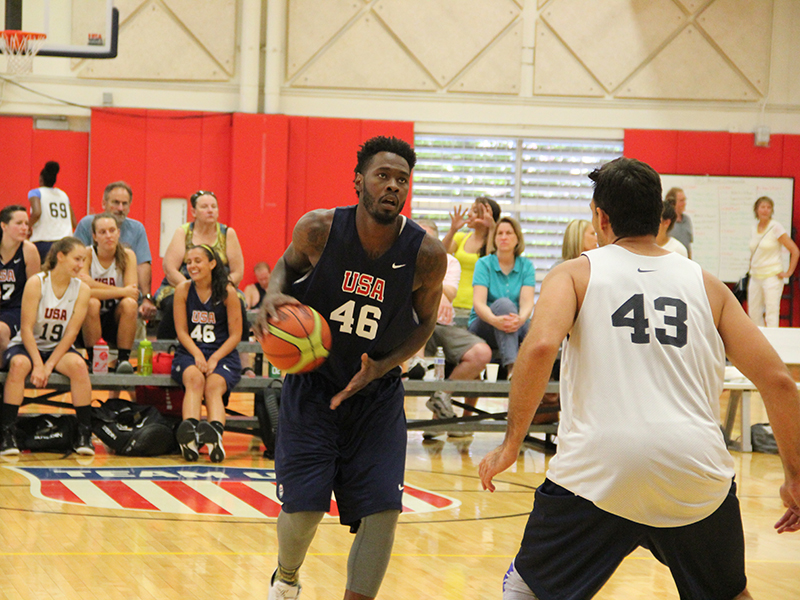 2015 USA Basketball 3x3 Men's National Tournament: Day 1