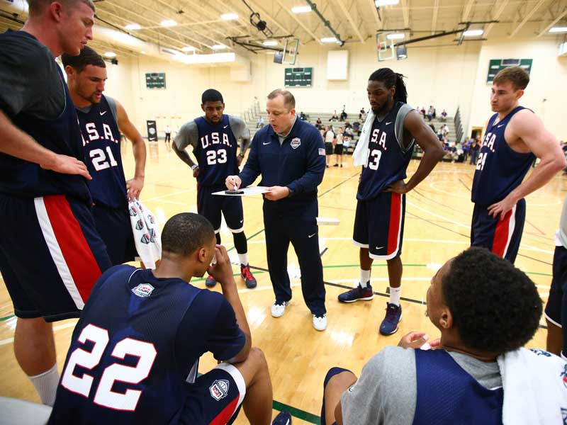 USA Basketball - 5 Keys to Being a Great Basketball Coach