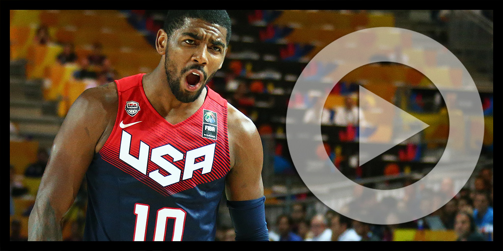 Kyrie Irving: 2015 Foot Locker 3-Point Contestant