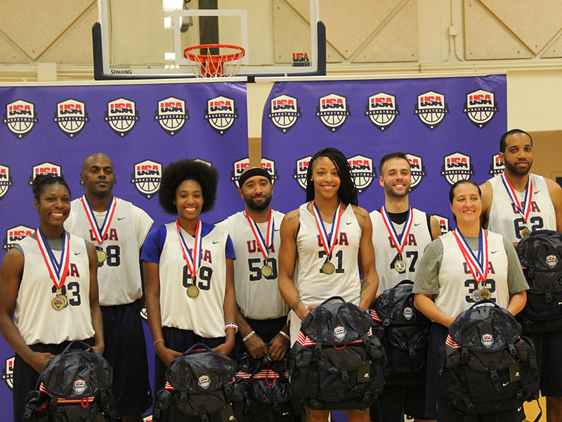 2015 USA Basketball 3x3 National Tournament Winners