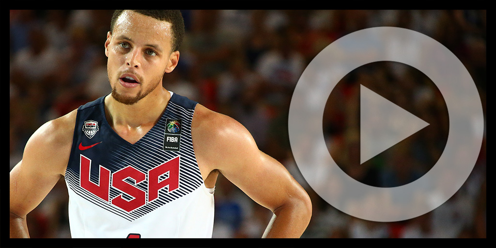 Stephen Curry: 2015 Foot Locker 3-Point Contestant