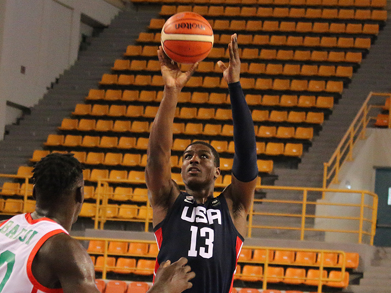 Reggie Perry and the U.S. played well in their win over Senegal in the U19 World Cup.