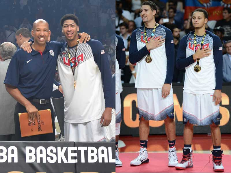 USA Basketball - National Team Players In the 2015 NBA Playoffs