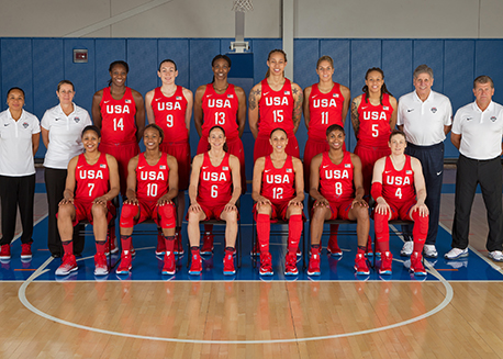 2016 U.S. Olympic Women's Basketball Team