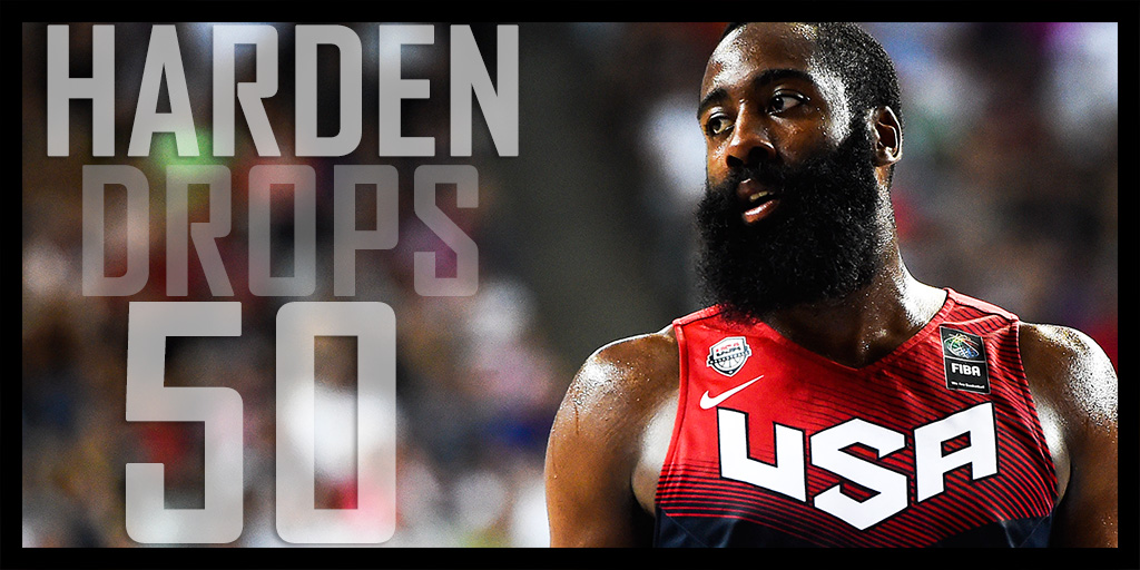 James Harden Scores Career High 50 Points