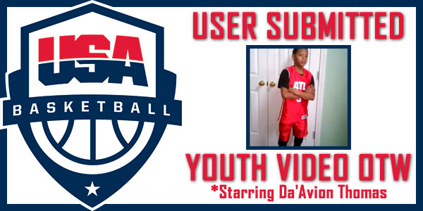 User submitted video of the week - Da'Avion Thomas.