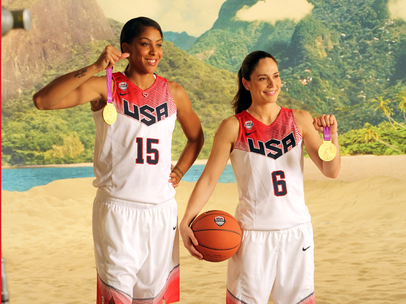 Candace Parker, Sue Bird