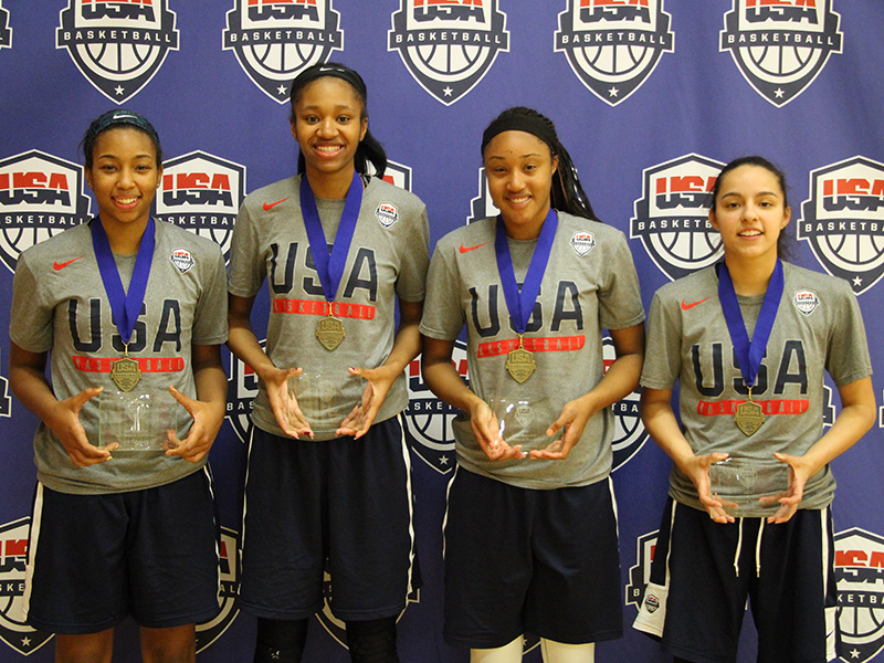 2016 USA Women's 3x3 U18 World Championship Team