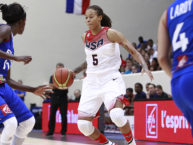 2016 US Olympic Womens Basketball Team Finalists