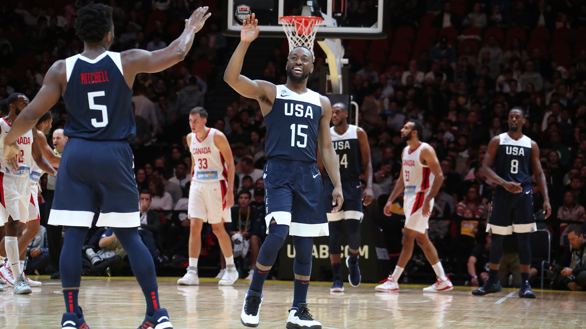 Quotes: USA Men\'s National Team 84, Canada 68