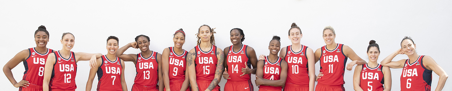 Usa Basketball Women S National Team Roster