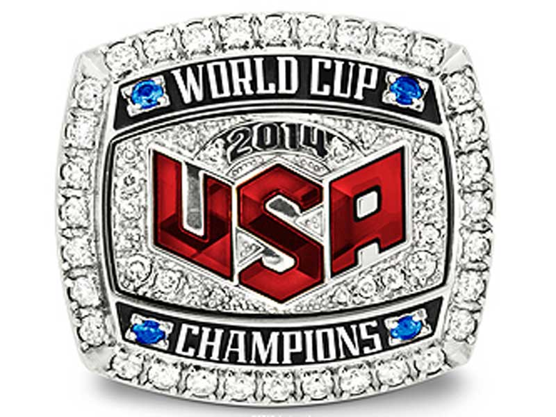 30a9eb425d5 USA Basketball - World Cup Ring Presentation During NBA All-Star Weekend