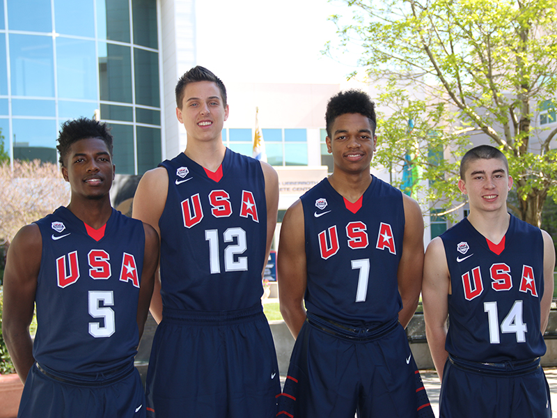 2015 USA Men's 3x3 U18 World Championship Team