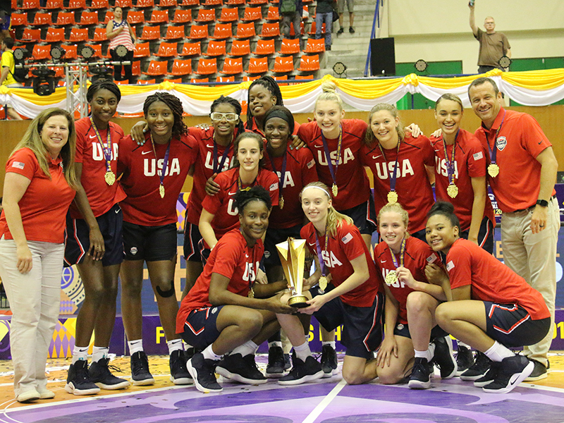2019 USA Basketball U19 World Cup Team