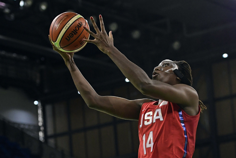 Tina Charles did a bit of everything, with eight points, six rebounds, five assists, two steals and two blocks.