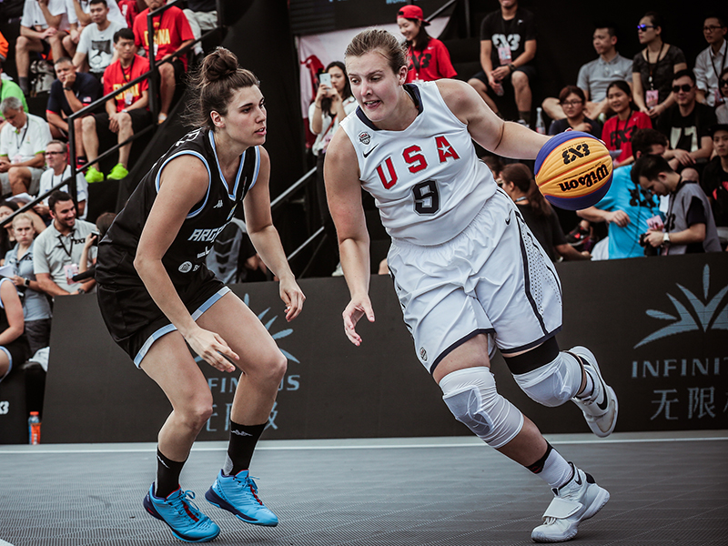 Florida State University's Chatrice White helped lead the 2016 USA 3x3 World Championship Team to a bronze medal.