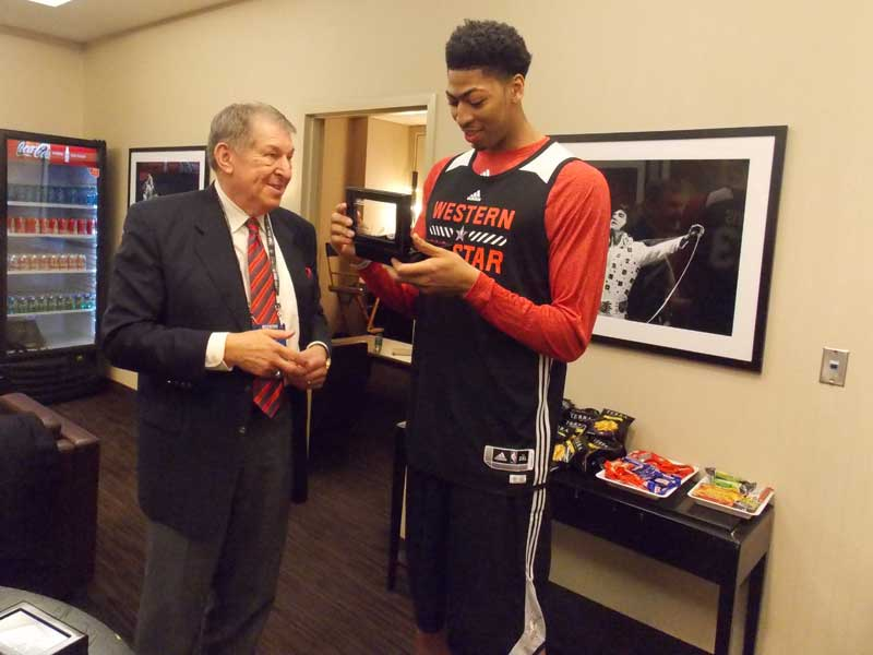 Jerry Colangelo and Anthony Davis