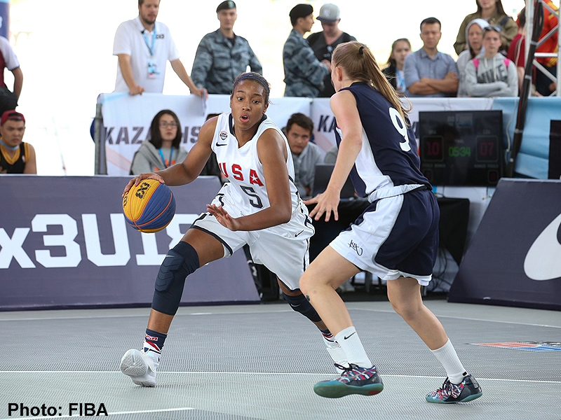 Meagan Walker - 2016 FIBA 3x3 U18 World Championship