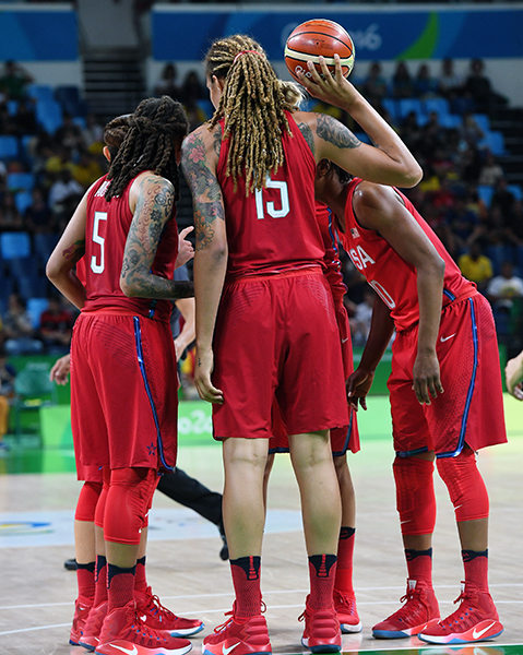 The U.S. Olympic Women's Basketball Team is riding a 48-game Olympic winning streak.