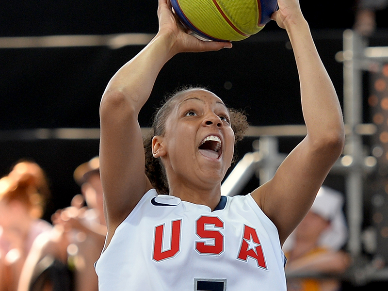 Former University of Tennessee standout Cierra Burdick, who played professionally in Israel during the 2016-17 season, captured a total of four gold medals in a USA Basketball jersey, including at the 2014 3x3 World Championship.