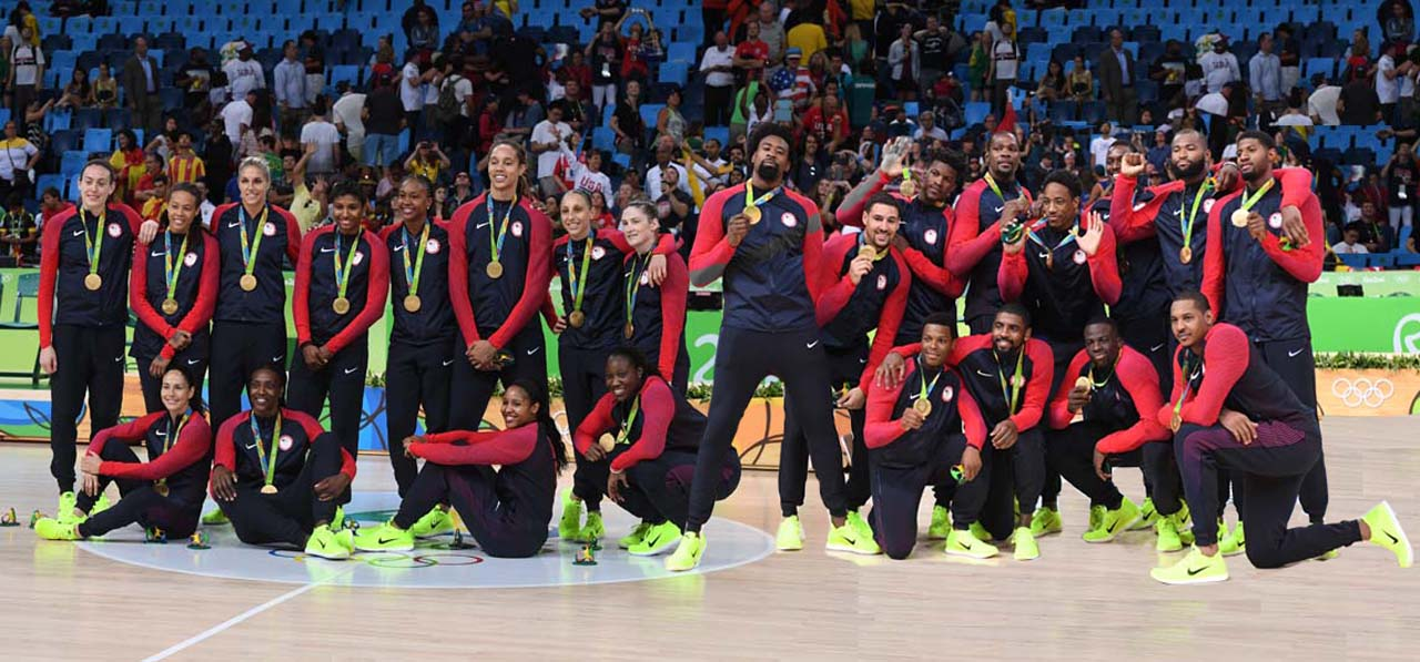2016 Men's and Women's U.S. Olympic Basketball Teams